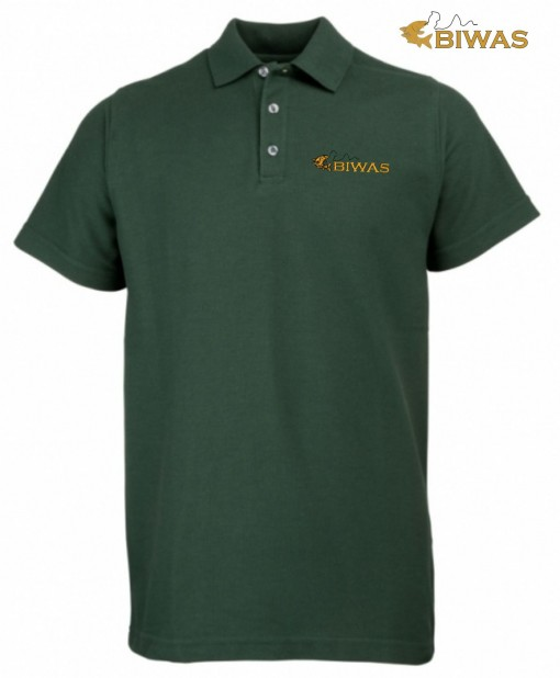 BIWAS Embroidered Polo Shirt